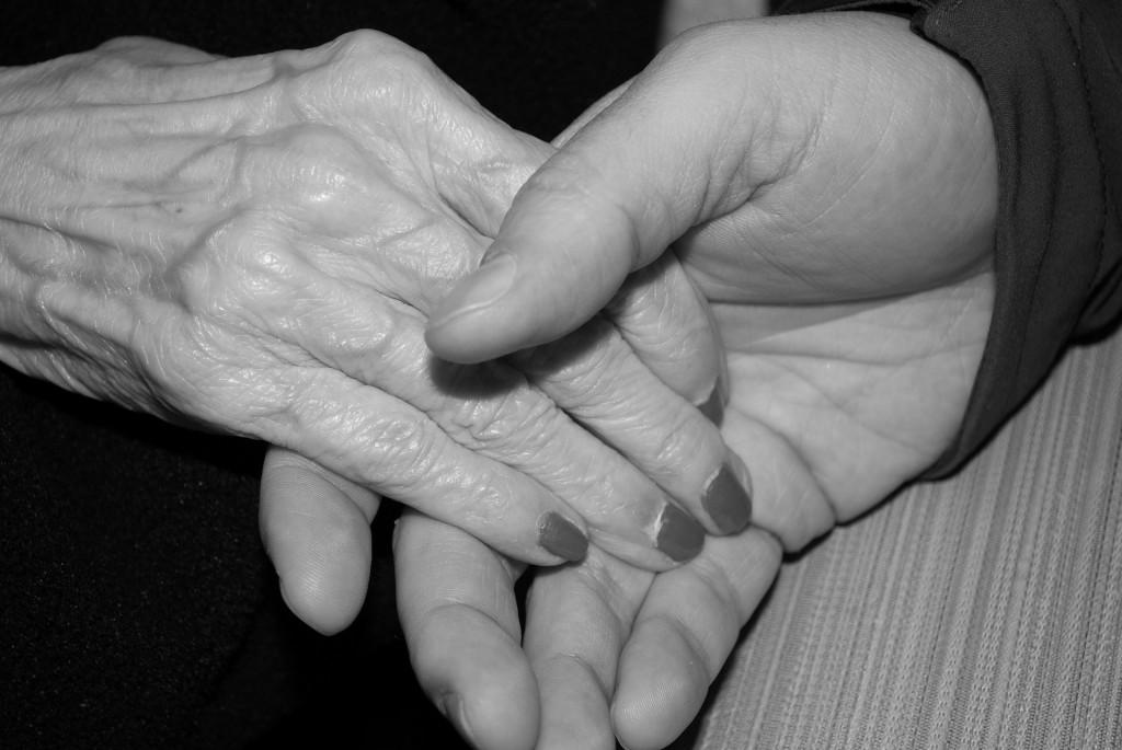 Het geschenk van ouderen verzorgen